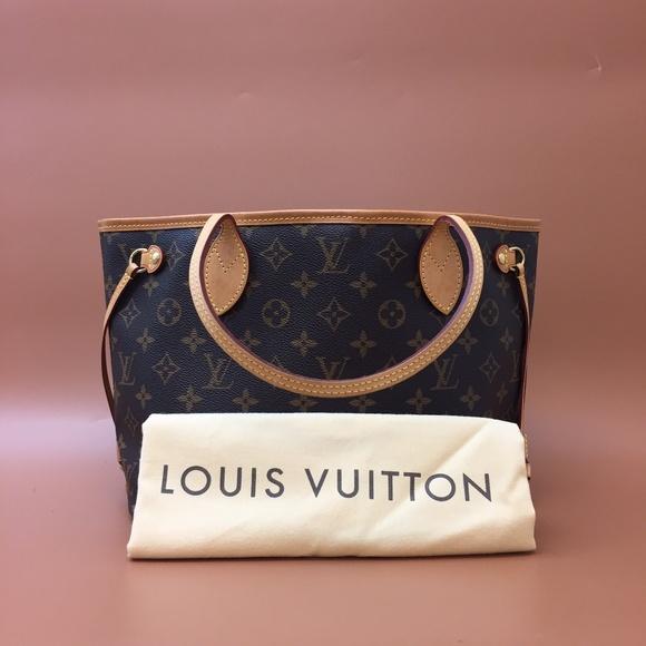 Louis Vuitton Monogram Neo Neverfull PM Canvas Bag